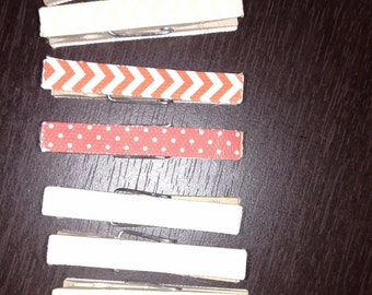 Decorative Mini Clothespins