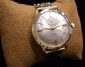 14k Gold Vintage Jules Jurgensen Wrist Watch