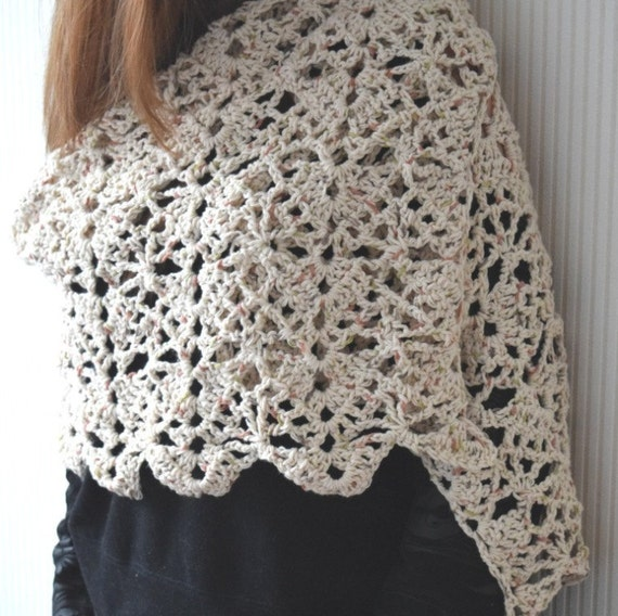 Crochet shawl patternSummer Breeze Lace by BlageCrochetDesign