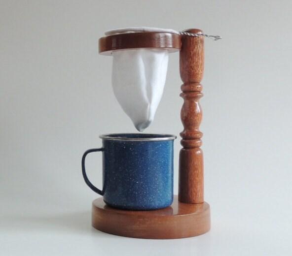 Pour Over Coffee Maker Handmade : Pour over drip coffee maker Chorreador