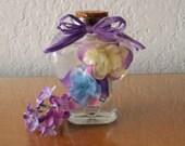 Forever Silk Bottled Bouquet, Forever Bouquet, Floral Decor, Home Decor, Bathroom Decor, Floral Embellishment, Floral Decor, Floral Bouquet