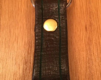 Key Fob Custom Reclaimed Leather