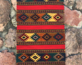 Handwoven and Hand-dyed Rug