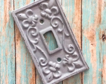 Light switch cover anthropologie wrought iron outlet cover - Wrought iron switch plate covers ...