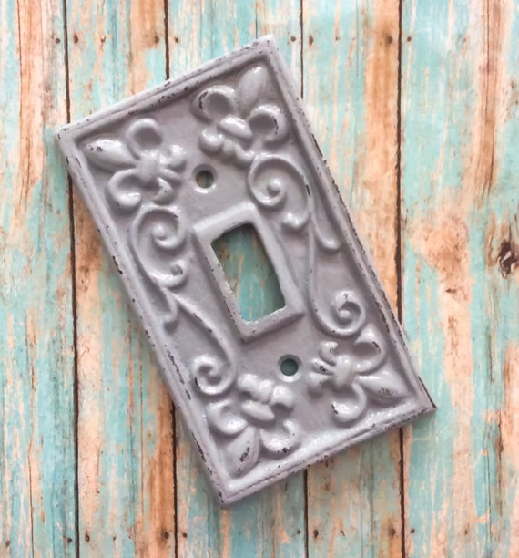 Cast iron light switch metal light switch light switch - Wrought iron switch plate covers ...