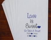 Wedding Favor Candy Bag, Candy Buffet Bags, Treat Bags,  Personalized Favor Treat Bag, Party Favor, Bridal Shower Favor Bag, Thank You Bag