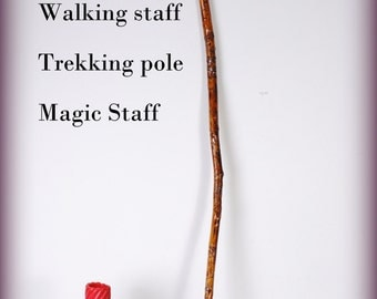 Walking/hiking staff, magic staff, witches staff. hand made one of a kind.