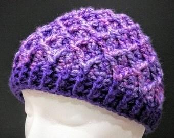 Diamond Lattice Beanie Hat