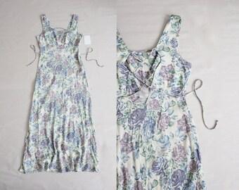90s corset dress   90s floral dress   floral maxi dress