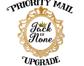 Upgrade to Priority Mail -