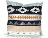 Tribal Pillow Cover, Tribal Nursery, Aztec Pillow Cover, Aztec Nursery Decor, Southwestern Pillow, Kilim Pillow