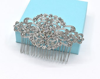 Crystal Wedding Hair Accessories Bridal Rhinestone Hair Comb Wedding Headpieces