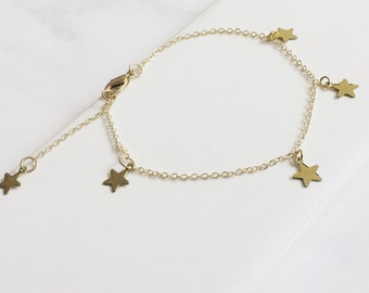 Dainty Tiny Star Bracelet