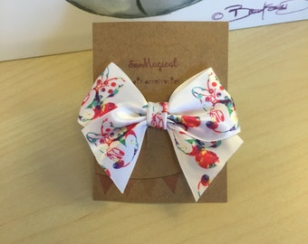 Minnie Mouse Clip in Hair Bow