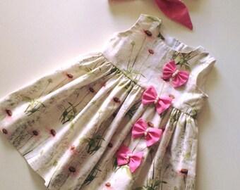 Simple litttle spring dress size 3