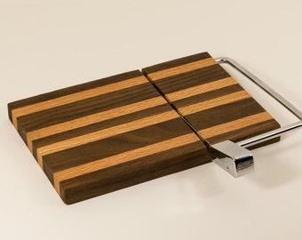 Wooden cheese slicer