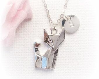 Fox Necklace, fox Jewellery, fox necklace, kids necklace, fox jewellery, fox necklace, fox, best friends gift SFINFOX1, christmas gift