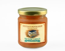 Vintage Bookshop - Scented Soy Candle