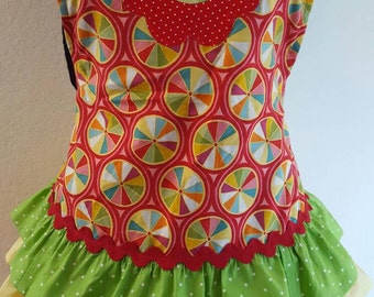 Women's Christmas in July. Candyland full apron