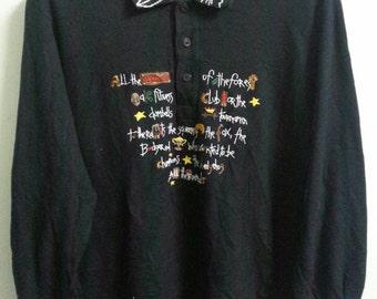 Authentic//JC DE CASTELBAJEC sport //longsleeve //awesome polo shirt//Designer//Size 1(M)//Mint!!!