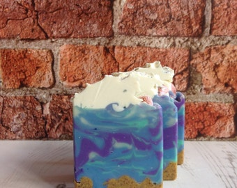 Beach, please Cold Process Artisan Soap
