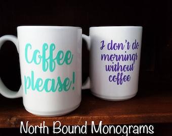15 oz Personalized Mug