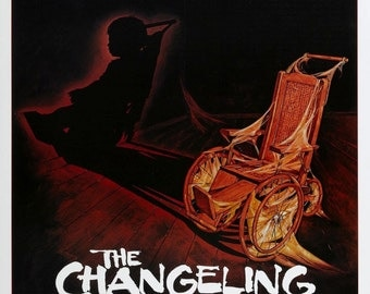 THE CHANGELING Movie Poster 1980 Horror George C. Scott