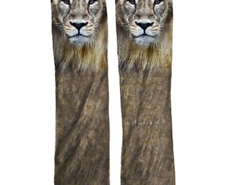 Lion Cool Unique Animal Socks