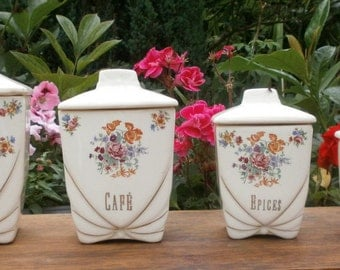 Old spice jars earthenware of Grigny-