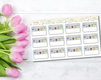 Mood tracker planner stickers | Anxiety stickers | Panic attack | Health tracker | Functional stickers |