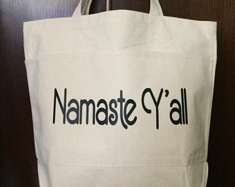 Yoga Bag - Namaste Y'all