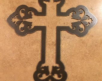 Metal Cross Wall Hanging