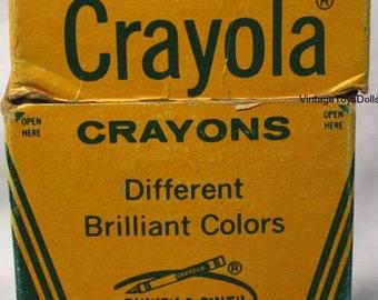 Vintage Crayola Crayons Box of 48...Discontinued Colors!