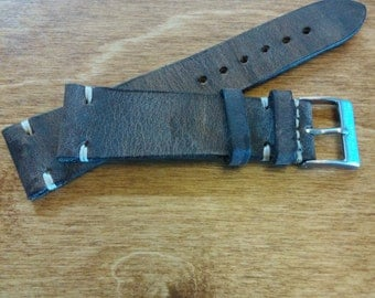 Brown Calfskin Leather Strap