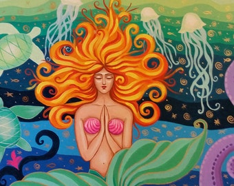 "Original Painting ""Mermaid"""