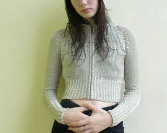 Vintage juicy cropped sweater
