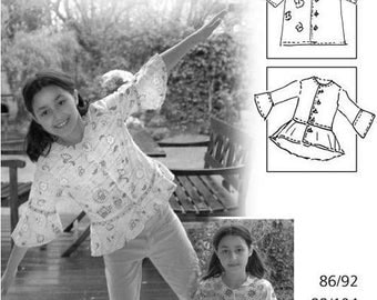 Farbenmix Sewing pattern- Girls Tomke-New/Uncut