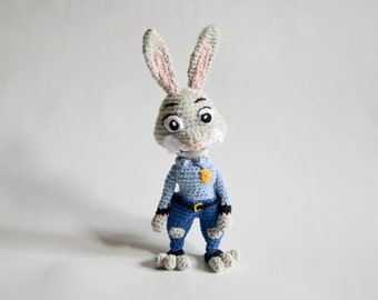 Crochet PATTERN - Judy the bunny by Krawka