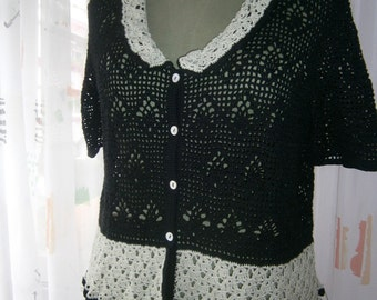 crotcheted blouse