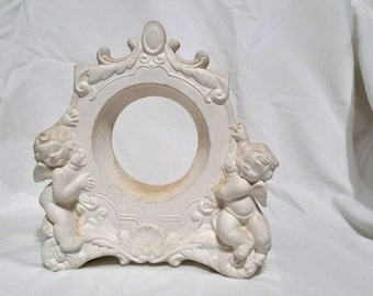 DIY Paint Your Own Clock Frame- Cherubs