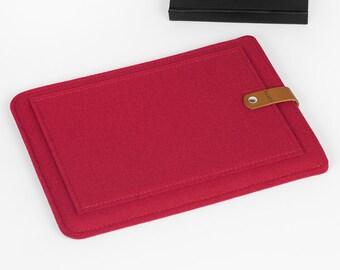 iPad Air, iPad Air 2 Case, iPad Air Cover, iPad Sleeve, iPad felt Case, iPad Leather Case