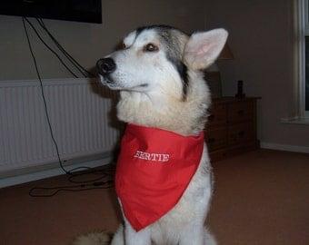 Personalized Dog Bandanna
