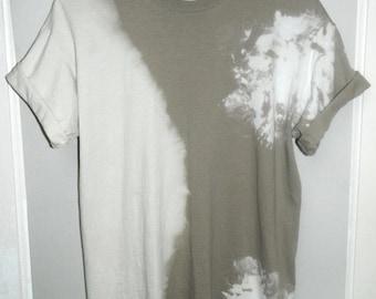 Tie Dye T-Shirt acid wash T-shirt hipster vintage 80s Retro 90s dip dye Rave skate festival scrunch men women unisex Indie Galaxy Grunge top