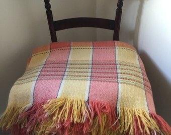Vintage Welsh blanket