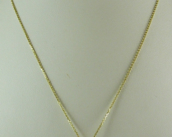 "Tahitian Gray 9.7 mm x 10.2 mm Pendant with 14k Yellow Gold Chain 18"" Long"