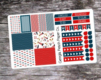 Lighthouse/Nautical Themed Planner Stickers- Made to fit Vertical Layout