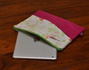 IPad Cover, IPad sleeve, IPad Case for Air 2 Pink Birds