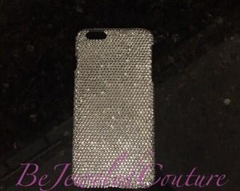 Swarovski Embellished Cell Phone Case, Bling cell phone case, ALL PHONE TYPES, iphone 6/6plus