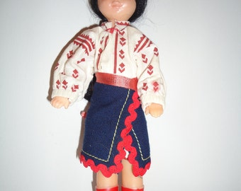 Vintage Cowgirl Doll