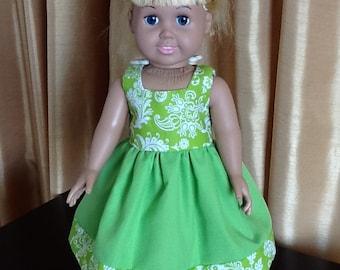 "American Girl / 18"" doll's dress"